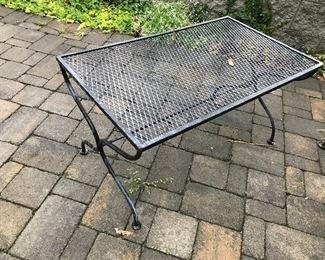 Metal Table $ 38.00
