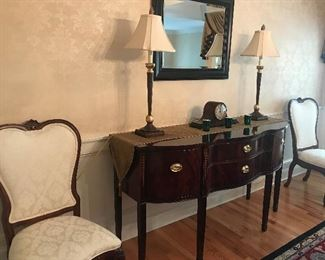 Thomasville Sideboard and Chairs