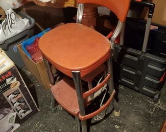 Old Vintage Kitchen Stool