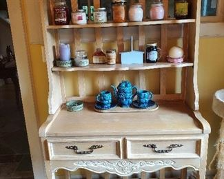 Penn House French Country Cabinet with shelves