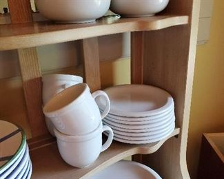 Lots of Pottery Barn Dishware
