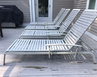 Set of 4 Loungers