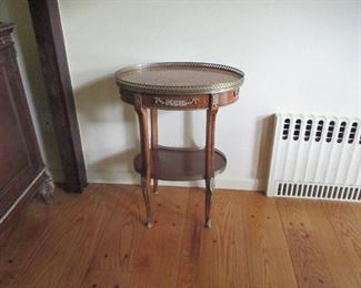 Antique Table with Ornamentation