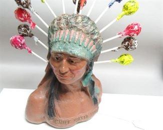 Chief Watta Pop Lollipop Display