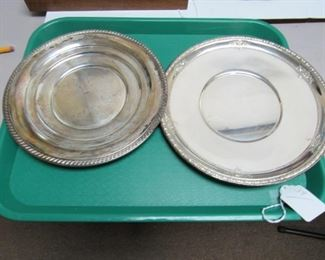 Sterling Silver Plates