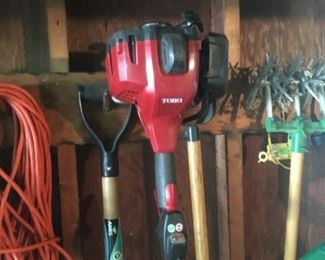 Working gas and electric yard tools