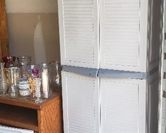 Rubbermaid Storage Closets/Bins