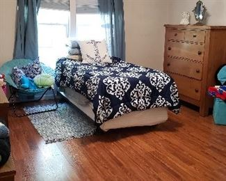 Extra Long Twin Bed with Mattress (Excellent Shape)