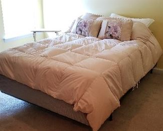 Full Size Bed with Mattress (Excellent Shape)
