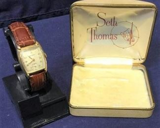 SETH THOMAS SWISS WATCH https://ctbids.com/#!/description/share/190462