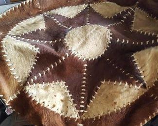 Pelt or hide Native American or similar rug
