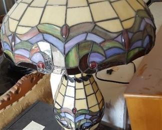 Modern Tiffany style lamp
