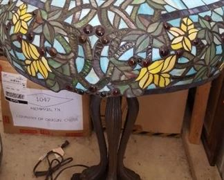 Another modern Tiffany style lamp