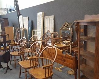 A small portion of the furniture