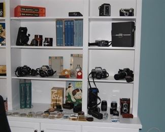 Large collection of 35mm cameras and 1 digital