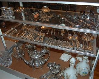 Sterling Galore- not on location till the day of the sale, set up for the picture