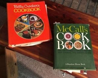 1963 McCalls and 1970 Betty Crockers Cookbooks