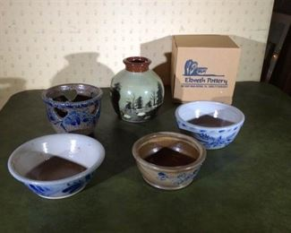 Eldreth assorted Pottery