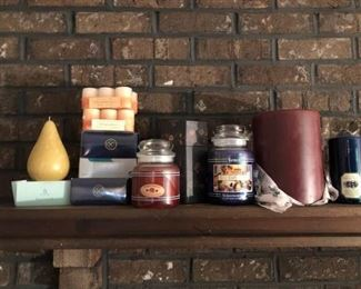 Huge Candle and Candle Collection