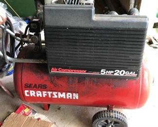 Twenty Gallon Air Compressor