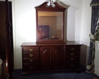 Pennsylvania House Mirrored Dresser