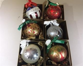 Waterford Christmas Ball Assortment