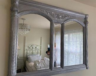 Custom Painted Mirror - Double Framed