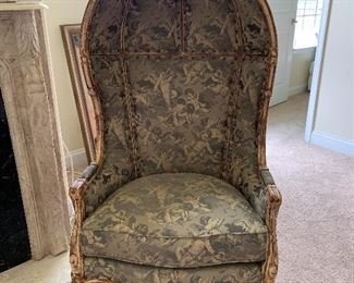 Louis XV style Porters Chair