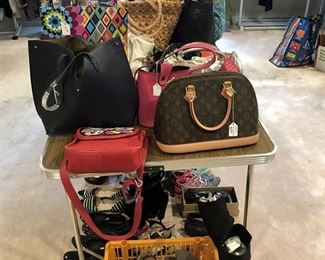 Purses, shoes and clothes!