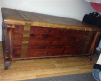 Cedar chest from 1920s.