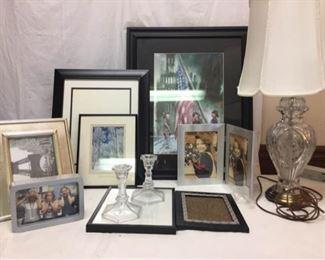 Art, Frames,  Lamp