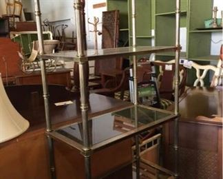 Bamboo Style Curio Shelf