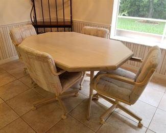 Chrome Craft Dining Room Set