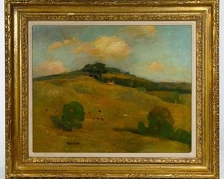 Bruce Crane American 1857 1937 Oil on Canvas