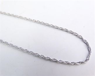 18 925 Sterling Silver Necklace Chain