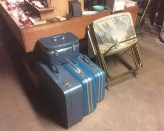 Like new vintage luggage