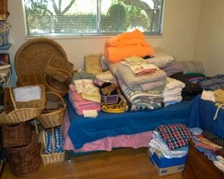 Baskets and Bedding