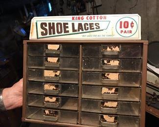 Vintage King Cotton Shoelace fixture