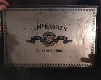 The McCaskey -Antique register/credit
