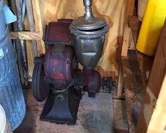 Antique Hobart mill/grinder