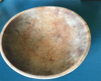 Munising wood bowl