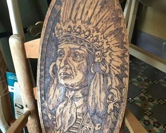Pyrography Indian 1909