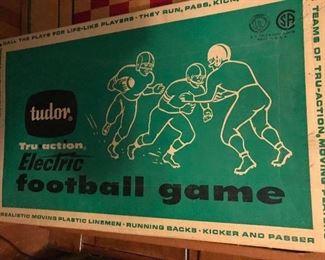 Vintage Tudor Electric football game
