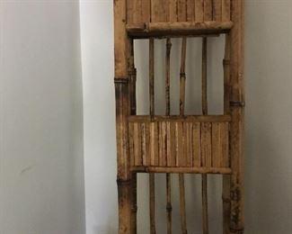 Bamboo wall rack
