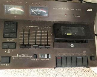 Vintage JVC cassette deck. Super ANRS