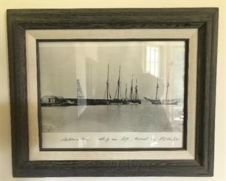 Vintage local Sutton's Bay photo print