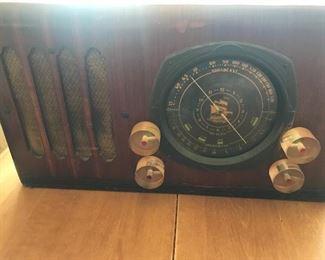 Antique Broadcast radio/shortwave.  Custom made
