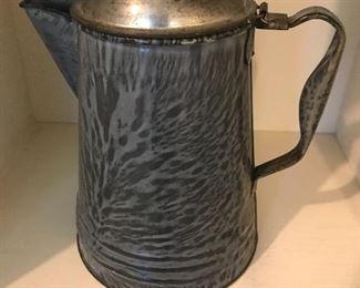 Granite ware coffeepot
