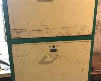 Vintage meat storage locker