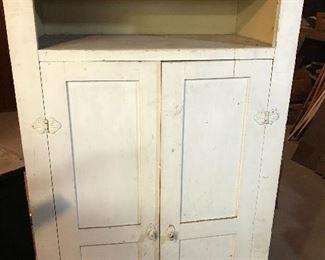 Antique painted cabinet